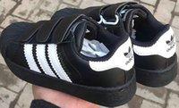 sapatos de designer coreano venda por atacado-2018 da marca Top Primavera-Verão Nova Moda sapatos de grife infantil crianças estilo casual sapatos coreano sapatos teste padrão de costura para bebés