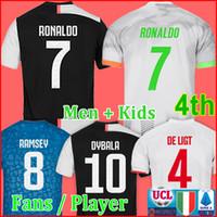 futbol formaları toptan satış-Tayland Futbol forması 2019 2020 futbol gömlek üniforma uzakta üçüncü erkek çocuklar 19 20