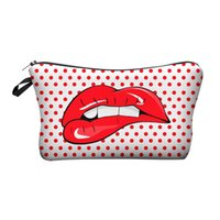 Wholesale cute cartoon pattern printed for sale - Printing D Makeup Bags With Multicolor Pattern Cute Cosmetics Pouchs For Travel Ladies Pouch Women Cosmetic Bag