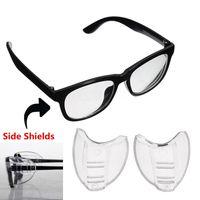 óculos tempestade no deserto venda por atacado-2 Pcs Óculos de Proteção Lateral Optical Aye Mate Universal Lateral Side Shields Ciclismo Eyewear # 235250