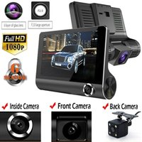 Wholesale car dvrs online - Original Car DVR Camera Video Recorder Rear View Auto Registrator ith Two Cameras Dash Cam DVRS Dual Lens