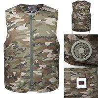 hava koşulu ceketi toptan satış-Feitong Yaz Klima Ceketleri Sıcak çarpması Önlemler Açık Çalışma Streetwear Giyim Taktik Ceketler # g10