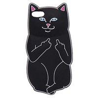 ingrosso casi di gatto del silicone di iphone-Custodia protettiva in silicone 3D per Pocket Cat Custodia protettiva in silicone per iPhone 5 6 6S Plus 7 8 X XR XS MAX