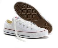 ingrosso canvas classics scarpe donna-Nuovo prezzo promozionale della fabbrica! Scarpe di tela Donne e uomini Scarpe basse di tela stile classico Scarpe casual in tela