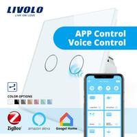 ingrosso solo telecomando-Livolo Wifi Wireless Intelligence Wall Switch telecomando Via APP lavoro ZigBee Switch, Solo lavoro con Livolo Gateway