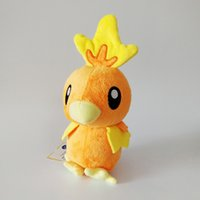 Wholesale torchic plush online - Hot Sale New inch cm Torchic Pikachu Plush Stuffed Doll Toy For Kids Best Holiday Gifts