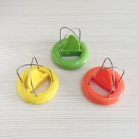 gadgets packen großhandel-2 In 1 Mini Kiwi Cutter Schäler Obstschäler Küchenhelfer Gadgets Zubehör Retail Pack HH9-2258