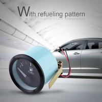 Wholesale level fuel for sale - Group buy 52mm Car Fuel Level Gauge LED Digital E F Range Meter with Fuel Sensor Universal LED Gauge Car Styling