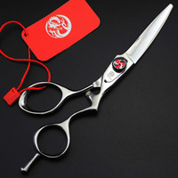 Wholesale hairdresser hair scissors resale online - 5 inch Sliver Hair Cutting Scissor Professional Shears Personality High Quality Tool For Hairdressers