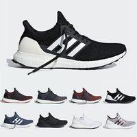 Adidas Ultra boost 3.0 III Sapatos de Corrida Uncaged Dos Homens Das Mulheres  Ultraboost 4.0 IV Sapatilha Primeknit Executa Branco Preto Athletic Sports  ... 8c9a1ba2344ee