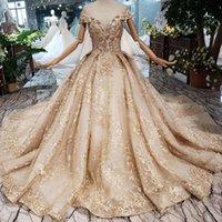 vestidos de noite requintados cristais frisados venda por atacado-2019 Mais Novo Design Dubai Prom Vestidos Longo de Tule Manga Alta Pescoço Frisada Vestidos de Festa Exquisite Applique Cristal Muçulmano Vestidos de Noite