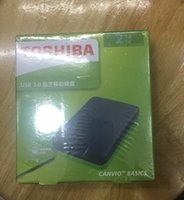 sıcak harici sürücüler toptan satış-Ücretsiz kargo Sıcak satış 2 TB Taşınabilir Harici Sabit Disk USB3.0 2.5
