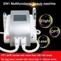 peito máquina portátil venda por atacado-Portátil OPTAO máquina de depilação SHR depilação a laser elight shr máquina de elevação do peito para cima nd yag remoção de tatuagem a laser