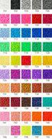 Wholesale perler beads for sale - Group buy 1000pcs mm EVA Hama Perler Beads Toy Kids Fun Craft DIY Handmaking Fuse Bead Multicolor Creative Intelligence Educational Toys C6313