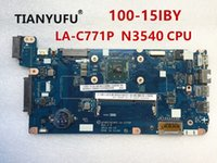 Wholesale laptop motherboards cpu online - AIVP1 AIVP2 LA C771P Motherboard For Lenovo IBY Laptop motherboard with N3540 CPU for intel CPU tested