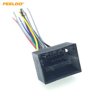 Wholesale car dvd installation resale online - FEELDO Car Stereo Audio Installation Wiring Harness Adapter For Chevrolet Cruze Aveo Malibu ISO Radio CD DVD Cable