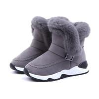 Boys Teen Big Aus Kinder Mädchen Russische Baby Stiefel Snow Fashion Wolle Turnschuhe Warm Boots Winter Leder Boot T1cFlJK3
