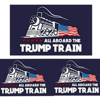 Wholesale train stickers online - 2020 trump car sticker Donald Trump locomotive stickers Train window Sticker Home Living Room Decor Wall Stickers MMA1744