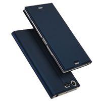 moda dual sim al por mayor-Funda con tapa de cuero para Sony Xperia XZ Premium Funda de moda para Sony XZ Premium G8141 Estuches Dual Sim G8142