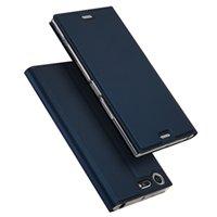 art und weise doppelsim groihandel-Luxus leder flip case für sony xperia xz premium abdeckung mode brieftasche abdeckung für sony xz premium g8141 dual sim g8142 fällen