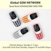 gsm сотовые телефоны сим-карты оптовых-Мини GSM телефон 3310 Беспроводная связь Bluetooth номеронабиратель Мобильный телефон BM10 Микрофон с гарнитурой для рук Две SIM-карты TF 32GB Мини Мобильный телефон Россия Арабский США