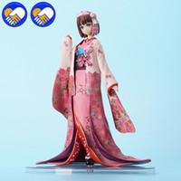 Wholesale anime kimono online - NEW Arrival Anime Saenai Heroine No Sodatekata Katou Megumi kimono Ver PVC Action Figure Collectible Model toy cm