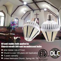 luzes led de 15 watts venda por atacado-CE ROHS ETL listados E27 / E40 Levou 30 W / 40 W / 50 W / 60 W / 80 W pirâmide milho bulbo para 175 w HPS MH substituição 100-277VAC