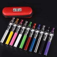 m6 vape venda por atacado-Ego starter kits com bateria ego-t e M6 galss globo atomizr para cera seca erva vaporizador atomizador tanque vape caneta zíper caso kit