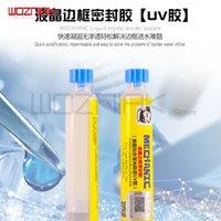 réparation de rétroéclairage lcd achat en gros de-Wozniak Repair LCD Screen Frame Scellé Backlight Gum MCNUV-706 UV Adhésif Rapide Solidification Preuve De L'eau