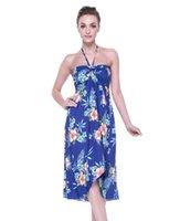 hawaii elbiseler kadınlar toptan satış-Hawaii Hangover Kadın Hawaii Kelebek Elbise