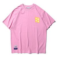 anúncios de iluminação venda por atacado-2019ss Melhor Qualidade AD ER Logotipo Impresso Luz Cor Mulheres Homens T camisas tees Hiphop Streetwear Homens Unisex camisetas Para O Verão