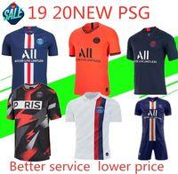 Wholesale windproof jersey for sale - Group buy Maillots de foot PSG soccer jersey Paris MBAPPE saint germain jersey camisetas football kit champions shirt men sets