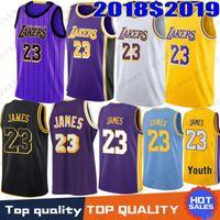 17280764b 2019 New Season Men Youth Kids Los Angeles 23 LeBron James Jersey Lakers 0  Kyle Kuzma 2 Lonzo Ball 14 Brandon Ingram 8 24 Kobe Bryant City