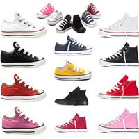 ingrosso le scarpe di marca del marchio prima soft-Scarpe da bambino Scarpe di tela di marca per bambini Sneaker sportivo Bambini Primi camminatori Suola morbida Prewalker Moda Scarpe casual Calzature da esterno MMA1823