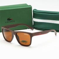 Wholesale lenses for glasses frames resale online - Luxury designer Sunglasses For Men Fashion Designer Sun Glass Oval Frame Coating Mirror UV400 Lens Summer Style Eyewear