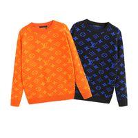 suéter de design para homens venda por atacado-medusa blusas mulheres solta pulôver camisola design preto ss mestre camisola de moda de mangas compridas carta impressão sweater casal de outono dos homens