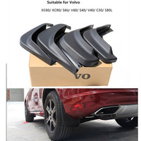 Wholesale cars mud guards for sale - Group buy car Mud Flaps Splash Guard Mudguard Fenders for S60 s40 S80L c30 XC60 V40 V60 exterior accessories