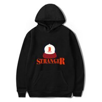 top-tv-serie großhandel-American TV Series Stranger Things Männer Frauen Hoodies Sweatshirts Pullover Tops Weiblich Harajuku Streetwear Hip Hop Hooded Drops