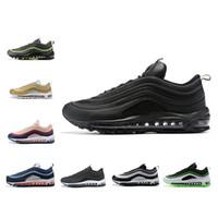 zapatos para correr talla 17 al por mayor-ULTRA 17 Cushion Running Shoes Hombres Negro Blanco Oro Gris Verde Rosa hombres mujeres Entrenadores deportivos Zapatillas de deporte Zapatos de diseñador Tamaño 36-45