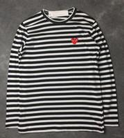 продажа футболки с длинным рукавом оптовых-2019 горячая распродажа 7 цвет мужской унисекс футболка играть в режим игры красное сердце с принтом футболка с длинным рукавом женщины S-XL