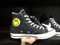 945a1422c22 With Box 2019 New Chinatown Market x all stars 1970s Smiling face Canvas  Shoes smile Designer Skate Shoes Men Women Casual Sneakers Zapatos