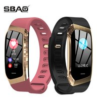 akıllı dokunmatik ledli saat toptan satış-Akıllı İzle Erkekler Kadınlar Spor Bant Dokunmatik Ekran Smartband Kan Basıncı Su Geçirmez Yüzme Spor Bilezik İzle Erkekler Için Xiaomi Y19061905