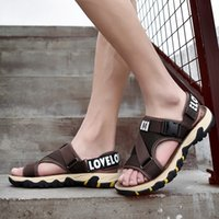 Wholesale shoe lazy styles for sale - Group buy Bonjean Summer New Sandals Outdoor Light Weight Sandals Gladiator Style Men Shoes Beach Plus Size Men Casual Shoes Lazy