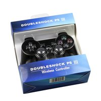 xbox grátis venda por atacado-Controladores de PS3 controlador Wireless Controller Jogo Bluetooth Duplo Choque para para PlayStation 3 Joysticks gamepad vs xbox um para o navio livre