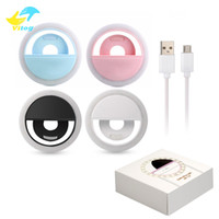 Vitog Universal LED Light Selfie Light Ring Light Flash Lamp Selfie Ring Lighting Camera Photography for Iphone Samsung with Retail Package