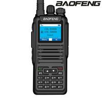 actualización de tiempo al por mayor-Baofeng DM-1701 Digital walkie talkie DMR hora doble ranura Tier12 Nivel II jamón CB Radio portátil mejorada del DM-1701 Transeiver