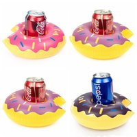 Unicorn Swimming Inflatable Floating Boat Drink Can Cup Holder Bath Beach Toy CE