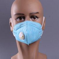 anti-nebel-staubmaske großhandel-Anti PM 2.5 Pollen Staubmaske Ultra Soft Conton Waschbar Komfortable Anti-Fog-Maske Aktivkohlefilter Ergonomische Mundmaske