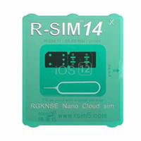 ücretsiz kart modelleri toptan satış-Marka yeni RSIM14 RSIM 14 açma kartı iphone için TÜM IOS ile uyumlu ve ücretsiz Kargo ile modeli