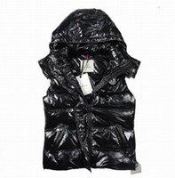 kadınlar için kahverengi yelek toptan satış-Hızlı kargo Yeni Kış Aşağı Yelek Kadınlar için Ceket Ince Tasarım Yelekler Kadın Marka Kolsuz Ceket Kadın Siyah Mor Kırmızı Kahverengi Ucuz satış